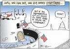 Cartoonist Joel Pett  Joel Pett's Editorial Cartoons 2010-11-16 affluent