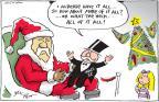 Cartoonist Joel Pett  Joel Pett's Editorial Cartoons 2010-11-29 gift