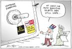 Cartoonist Joel Pett  Joel Pett's Editorial Cartoons 2010-12-01 least