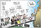 Cartoonist Joel Pett  Joel Pett's Editorial Cartoons 2010-12-08 animal rescue