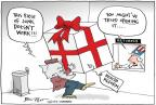 Cartoonist Joel Pett  Joel Pett's Editorial Cartoons 2010-12-27 gift