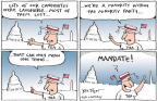 Cartoonist Joel Pett  Joel Pett's Editorial Cartoons 2011-01-03 loss