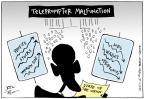 Cartoonist Joel Pett  Joel Pett's Editorial Cartoons 2011-01-25 gap
