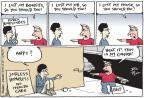 Cartoonist Joel Pett  Joel Pett's Editorial Cartoons 2011-02-20 loss