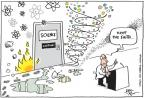 Cartoonist Joel Pett  Joel Pett's Editorial Cartoons 2011-03-22 trust