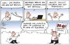 Cartoonist Joel Pett  Joel Pett's Editorial Cartoons 2011-04-04 loss