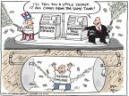 Cartoonist Joel Pett  Joel Pett's Editorial Cartoons 2011-05-12 tax payment