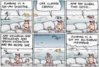 Cartoonist Joel Pett  Joel Pett's Editorial Cartoons 2011-05-18 income gap