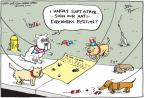 Cartoonist Joel Pett  Joel Pett's Editorial Cartoons 2011-07-06 animal