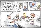 Cartoonist Joel Pett  Joel Pett's Editorial Cartoons 2011-07-07 league