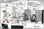 Cartoonist Joel Pett  Joel Pett's Editorial Cartoons 2011-08-19 animal