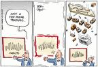 Cartoonist Joel Pett  Joel Pett's Editorial Cartoons 2011-08-25 income gap