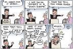 Cartoonist Joel Pett  Joel Pett's Editorial Cartoons 2011-09-09 2012 primary