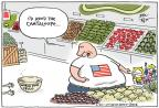 Cartoonist Joel Pett  Joel Pett's Editorial Cartoons 2011-09-30 fruit