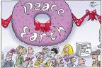 Cartoonist Joel Pett  Joel Pett's Editorial Cartoons 2011-12-07 gift