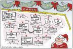 Cartoonist Joel Pett  Joel Pett's Editorial Cartoons 2011-12-20 2012 primary