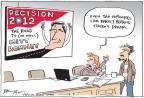 Cartoonist Joel Pett  Joel Pett's Editorial Cartoons 2012-01-04 2012 primary