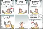 Cartoonist Joel Pett  Joel Pett's Editorial Cartoons 2012-01-19 income inequality