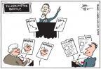 Cartoonist Joel Pett  Joel Pett's Editorial Cartoons 2012-01-26 2012 debate