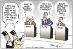 Cartoonist Joel Pett  Joel Pett's Editorial Cartoons 2012-02-16 2012 debate