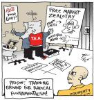 Cartoonist Joel Pett  Joel Pett's Editorial Cartoons 2012-02-21 hand