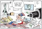Cartoonist Joel Pett  Joel Pett's Editorial Cartoons 2012-02-28 just left