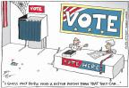 Cartoonist Joel Pett  Joel Pett's Editorial Cartoons 2012-05-22 guess