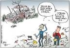 Cartoonist Joel Pett  Joel Pett's Editorial Cartoons 2012-05-24 2012 election economy
