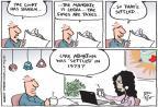 Cartoonist Joel Pett  Joel Pett's Editorial Cartoons 2012-07-05 1970s