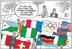 Cartoonist Joel Pett  Joel Pett's Editorial Cartoons 2012-07-29 2012 Olympics