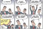 Cartoonist Joel Pett  Joel Pett's Editorial Cartoons 2012-08-14 2012 election religion