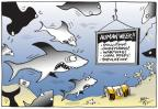 Cartoonist Joel Pett  Joel Pett's Editorial Cartoons 2012-08-17 climate