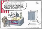 Cartoonist Joel Pett  Joel Pett's Editorial Cartoons 2012-08-20 trust