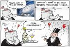 Cartoonist Joel Pett  Joel Pett's Editorial Cartoons 2012-08-29 tax increase