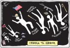 Cartoonist Joel Pett  Joel Pett's Editorial Cartoons 2012-09-28 culture