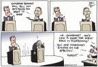 Cartoonist Joel Pett  Joel Pett's Editorial Cartoons 2012-10-05 2012 debate