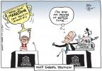 Cartoonist Joel Pett  Joel Pett's Editorial Cartoons 2012-10-10 trust