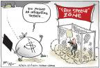 Cartoonist Joel Pett  Joel Pett's Editorial Cartoons 2012-10-16 2012 election
