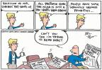 Cartoonist Joel Pett  Joel Pett's Editorial Cartoons 2012-12-05 league