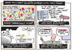 Cartoonist Joel Pett  Joel Pett's Editorial Cartoons 2013-02-26 cutting