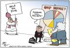 Cartoonist Joel Pett  Joel Pett's Editorial Cartoons 2013-03-15 cutting