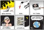 Cartoonist Joel Pett  Joel Pett's Editorial Cartoons 2013-05-09 activity