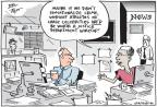 Cartoonist Joel Pett  Joel Pett's Editorial Cartoons 2013-05-22 press freedom