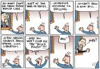 Cartoonist Joel Pett  Joel Pett's Editorial Cartoons 2013-06-02 press freedom