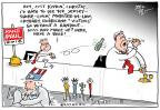 Cartoonist Joel Pett  Joel Pett's Editorial Cartoons 2013-08-02 2016 Election Chris Christie