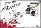 Cartoonist Joel Pett  Joel Pett's Editorial Cartoons 2013-09-17 weapon