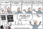 Cartoonist Joel Pett  Joel Pett's Editorial Cartoons 2013-10-25 $250