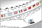 Cartoonist Joel Pett  Joel Pett's Editorial Cartoons 2013-10-29 flag
