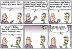 Cartoonist Joel Pett  Joel Pett's Editorial Cartoons 2013-11-19 age difference