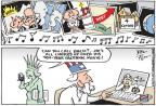 Cartoonist Joel Pett  Joel Pett's Editorial Cartoons 2014-02-09 Facebook